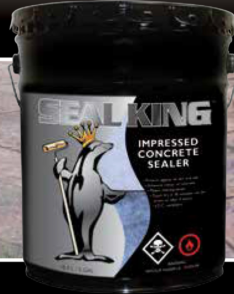 Impressed Concrete Sealer