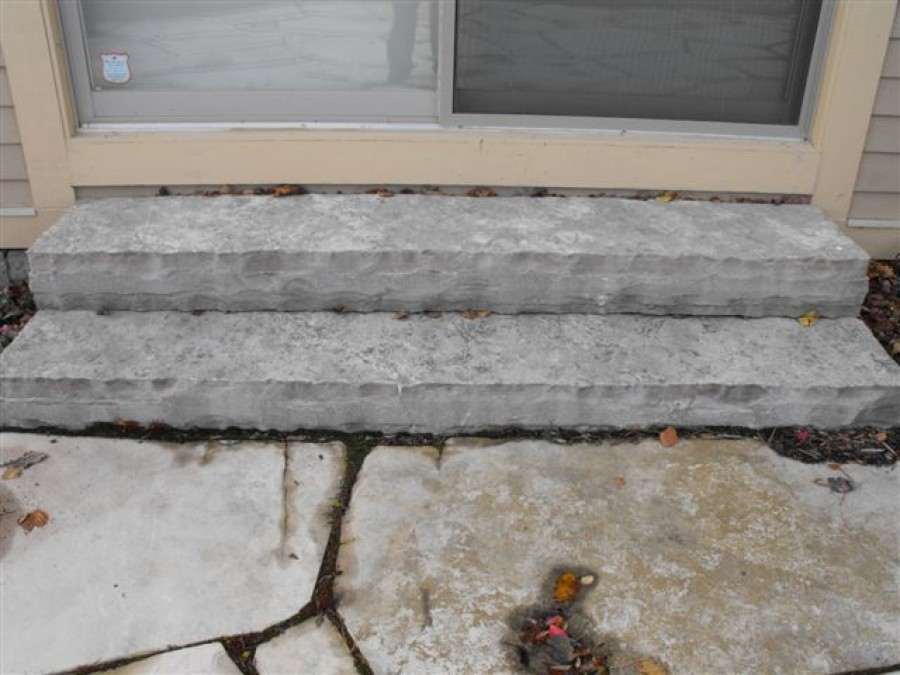 Glacier Swept Cut Steps 4Ft