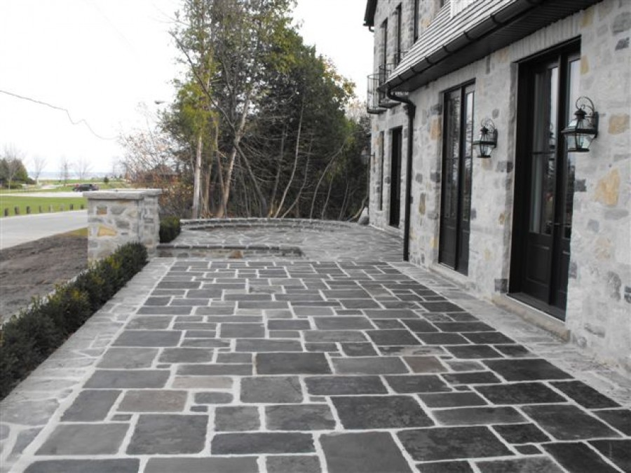 Buy Square Cut Flagstone In Canada At Mavisgardens Com