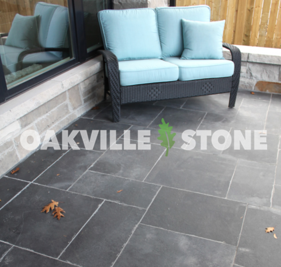 Black Limestone Paving